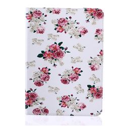 Eastern Roses Folio Stand Leather Wallet Case for Samsung Galaxy Tab S2 9.7 T810 T815 T819
