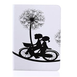 Dandelion Bike Folio Stand Leather Wallet Case for Samsung Galaxy Tab S2 9.7 T810 T815 T819