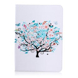 Colorful Tree Folio Stand Leather Wallet Case for Samsung Galaxy Tab S2 9.7 T810 T815 T819