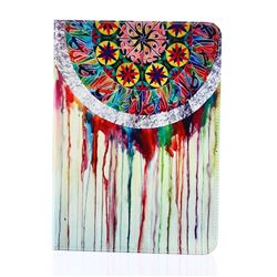 Dream Catcher Campanula Folio Stand Leather Wallet Case for Samsung Galaxy Tab S2 9.7 T810 T815 T819