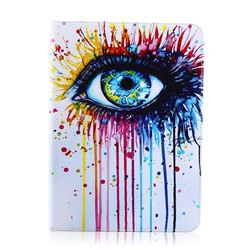 Eye Painting Folio Stand Leather Wallet Case for Samsung Galaxy Tab S2 9.7 T810 T815 T819