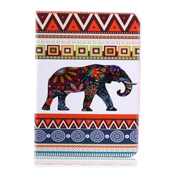 Tribal Elephant Folio Stand Leather Wallet Case for Samsung Galaxy Tab S2 9.7 T810 T815 T819