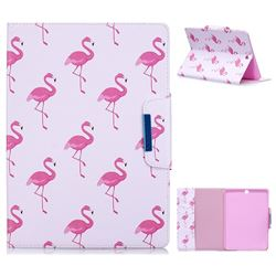 Red Flamingo Folio Flip Stand Leather Wallet Case for Samsung Galaxy Tab S2 9.7 T810 T815 T819