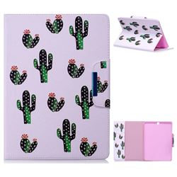 Cactus Folio Flip Stand Leather Wallet Case for Samsung Galaxy Tab S2 9.7 T810 T815 T819