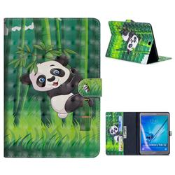 Climbing Bamboo Panda 3D Painted Leather Tablet Wallet Case for Samsung Galaxy Tab S2 9.7 T810 T815 T819