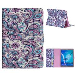 Swirl Flower 3D Painted Leather Tablet Wallet Case for Samsung Galaxy Tab S2 9.7 T810 T815 T819
