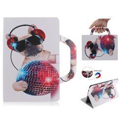 Fashion Dog Handbag Tablet Leather Wallet Flip Cover for Samsung Galaxy Tab S4 10.5 T830 T835