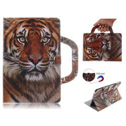 Siberian Tiger Handbag Tablet Leather Wallet Flip Cover for Samsung Galaxy Tab S4 10.5 T830 T835