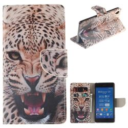 Puma PU Leather Wallet Case for Sony Xperia Z3