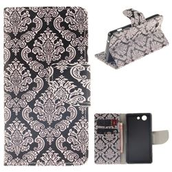 Totem Flowers PU Leather Wallet Case for Sony Xperia Z3 Compact Mini