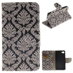 Totem Flowers PU Leather Wallet Case for Sony Xperia Z5 Compact / Z5 Mini