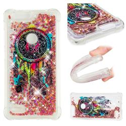 Seal Wind Chimes Dynamic Liquid Glitter Sand Quicksand Star TPU Case for ZTE Blade Z Max Z982