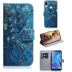 Apricot Tree PU Leather Wallet Case for Asus Zenfone Max (M1) ZB555KL
