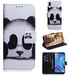 Sleeping Panda PU Leather Wallet Case for Asus Zenfone Max (M1) ZB555KL