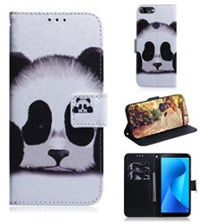 Sleeping Panda PU Leather Wallet Case for Asus Zenfone Max Plus (M1) ZB570TL