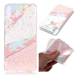 Matching Color Marble Pattern Bright Color Laser Soft TPU Case for Asus Zenfone Max Pro (M1) ZB601KL
