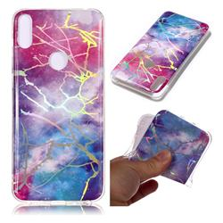 Dream Sky Marble Pattern Bright Color Laser Soft TPU Case for Asus Zenfone Max Pro (M1) ZB601KL