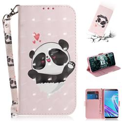 Heart Cat 3D Painted Leather Wallet Phone Case for Asus Zenfone Max Pro (M1) ZB601KL