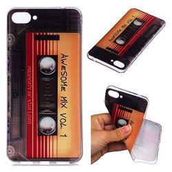 Retro Cassette Tape Super Clear Soft TPU Back Cover for Asus Zenfone 4 Max ZC520KL