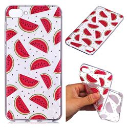 Red Watermelon Super Clear Soft TPU Back Cover for Asus Zenfone 4 Max ZC520KL