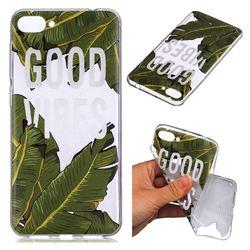 Good Vibes Banana Leaf Super Clear Soft TPU Back Cover for Asus Zenfone 4 Max ZC520KL