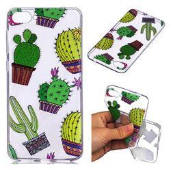 Cactus Ball Super Clear Soft TPU Back Cover for Asus Zenfone 4 Max ZC520KL