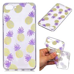 Carton Pineapple Super Clear Soft TPU Back Cover for Asus Zenfone 4 Max ZC520KL