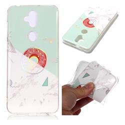 Donuts Marble Pattern Bright Color Laser Soft TPU Case for Asus Zenfone 5 Lite ZC600KL