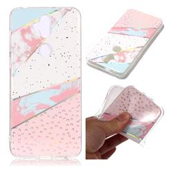 Matching Color Marble Pattern Bright Color Laser Soft TPU Case for Asus Zenfone 5 Lite ZC600KL