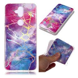 Dream Sky Marble Pattern Bright Color Laser Soft TPU Case for Asus Zenfone 5 Lite ZC600KL
