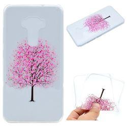Petals Tree Super Clear Soft TPU Back Cover for Asus Zenfone 3 ZE552KL