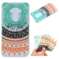Tribe Flower Super Clear Soft TPU Back Cover for Asus Zenfone 3 ZE552KL
