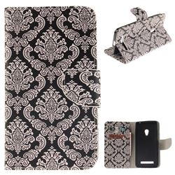 Totem Flowers PU Leather Wallet Case for Asus ZenFone 5 (A500CG/A501CG), LTE (A500KL)