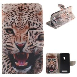 Puma PU Leather Wallet Case for Asus ZenFone 5 (A500CG/A501CG), LTE (A500KL)