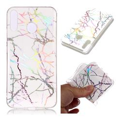 Color White Marble Pattern Bright Color Laser Soft TPU Case for Asus Zenfone 5Z ZS620KL
