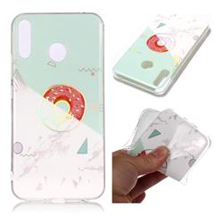 Donuts Marble Pattern Bright Color Laser Soft TPU Case for Asus Zenfone 5Z ZS620KL