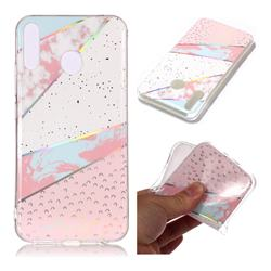 Matching Color Marble Pattern Bright Color Laser Soft TPU Case for Asus Zenfone 5Z ZS620KL