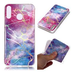 Dream Sky Marble Pattern Bright Color Laser Soft TPU Case for Asus Zenfone 5Z ZS620KL