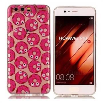 Eye Donuts Super Clear Soft TPU Back Cover for Huawei P10