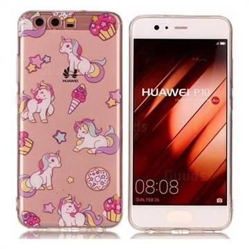 Unicorn Super Clear Soft TPU Back Cover for Huawei P10