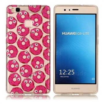 Eye Donuts Super Clear Soft TPU Back Cover for Huawei P9 Lite G9 Lite