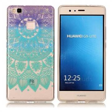 Mandala Wind Chimes Super Clear Soft TPU Back Cover for Huawei P9 Lite G9 Lite
