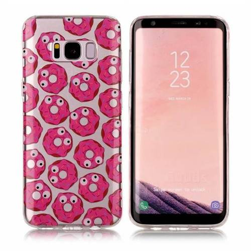 Eye Donuts Super Clear Soft TPU Back Cover for Samsung Galaxy S8