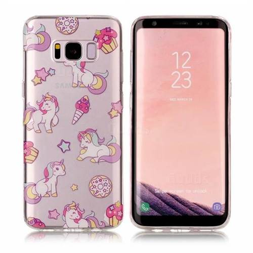 Unicorn Super Clear Soft TPU Back Cover for Samsung Galaxy S8