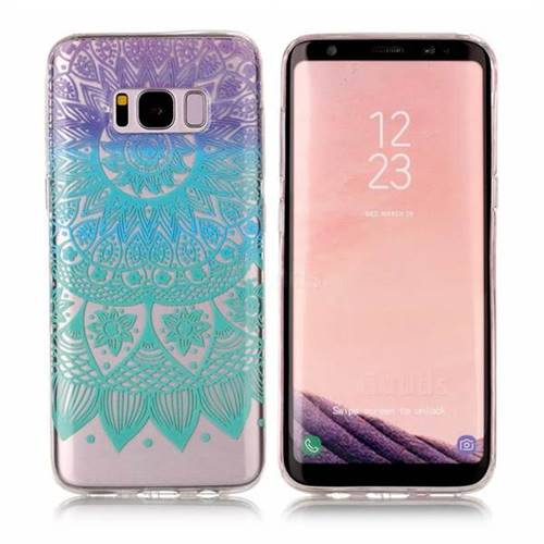 Mandala Wind Chimes Super Clear Soft TPU Back Cover for Samsung Galaxy S8 Plus S8+