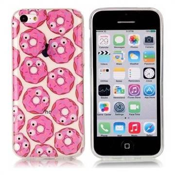 Eye Donuts Super Clear Soft TPU Back Cover for iPhone 5c
