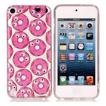 Eye Donuts Super Clear Soft TPU Back Cover for iPod Touch 5 6