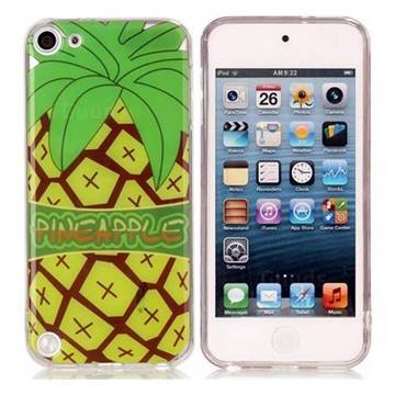 Big Pineapple Super Clear Soft TPU Back Cover for iPod Touch 5 6