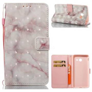 Beige Marble 3D Painted Leather Wallet Case for Samsung Galaxy J5 2017 US Edition