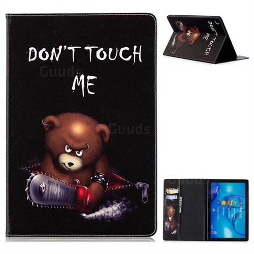 Chainsaw Bear Folio Stand Leather Wallet Case for Huawei MediaPad M5 10 / M5 10 inch (Pro)